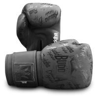 Guantes de boxeo Buddha Top Premium Negro Mate