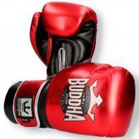 Guantes de boxeo Buddha Deluxe rojo metalizado
