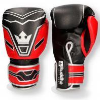 Guantes de boxeo Future negro/rojo