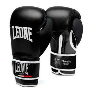 Guantes de boxeo Leone Flash Negro/Negro