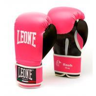 Guantes de boxeo Leone Flash Rosa Niños