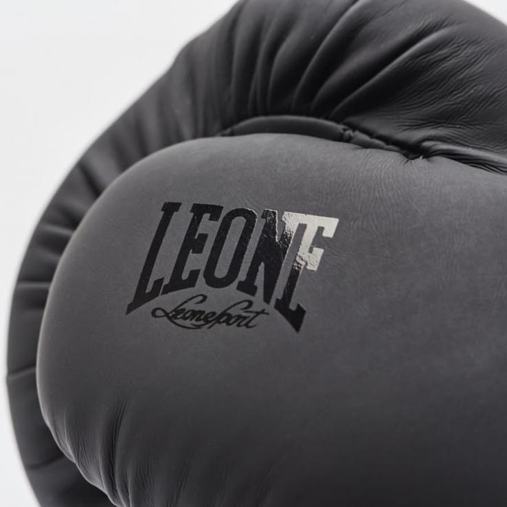 """Guantes de boxeo Leone GN059 """"Black&White"""" Negros"""
