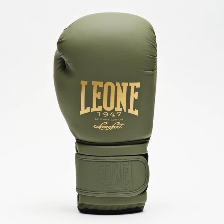 Guantes de boxeo Leone GN059 Khaki