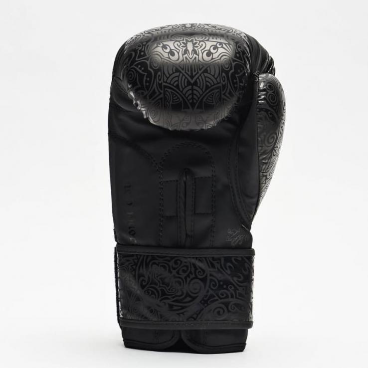 Guantes de boxeo Leone Maori negro