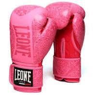 Guantes de boxeo Leone Maori rosa