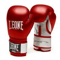 Guantes de boxeo Leone Smart rojo