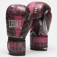Guantes de boxeo Leone Zenith fucsia