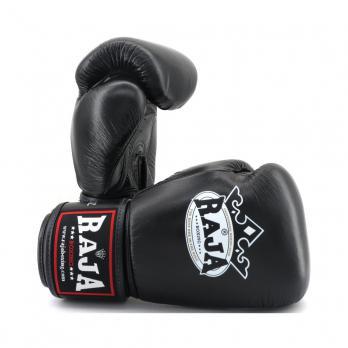 Guantes de boxeo Raja Negros Piel