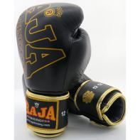 Guantes de boxeo Raja Premium Special Piel Negro