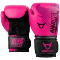 Guantes de boxeo Ringhorns Charger MX rosa By Venum