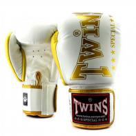 Guantes de boxeo Twins BGVL 8 blanco