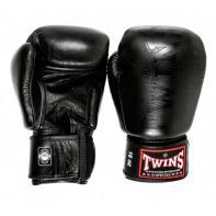 Guantes de boxeo Twins BGVL 8 negro mate