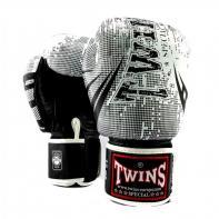 Guantes de boxeo Twins Special Fantasy 2 blanco/negro