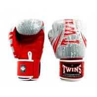 Guantes de boxeo Twins Special Fantasy 6 blanco / rojo
