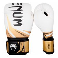 Guantes de boxeo Venum Challenger 3.0 blanco/negro/oro