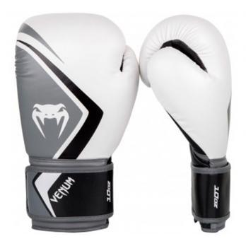 Guantes de boxeo Venum Contender 2.0 Blanco/Negro-Gris