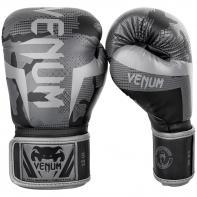Guantes De Boxeo Venum Elite Black / Dark Camo