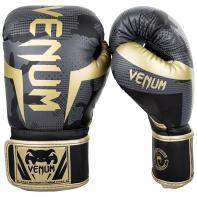Guantes De Boxeo Venum Elite Dark Camo / Gold