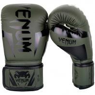 Guantes de boxeo Venum Elite khaki/negro