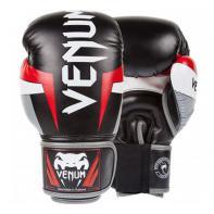 Guantes de boxeo Venum Elite negro / rojo