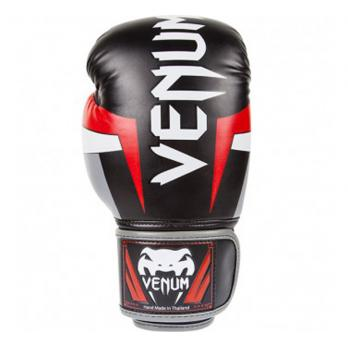 Guantes de boxeo Venum Elite Negro/Rojo