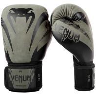 Guantes de boxeo Venum Impact Negro Khaki