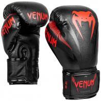 Guantes de boxeo Venum Impact negro/rojo