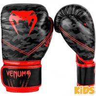 Guantes de boxeo Niños Venum Okinawa 2.0 negro / rojo