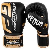Guantes de boxeo Venum Petrosyan negro/dorado