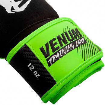 Guantes de boxeo Venum Training Camp 2.0 Negro/Neo Yellow