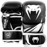 Guantillas de MMA  Venum Challenger 3.0 Sparring Negro/Blanco
