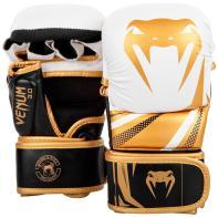 Guantillas de MMA  Venum Challenger 3.0 Sparring Negro/Blanco/Oro