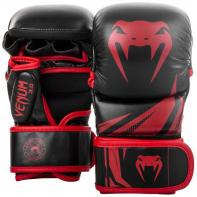 Guantillas de MMA  Venum Challenger 3.0 Sparring Negro/Rojo