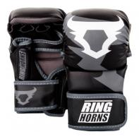 Guantillas de MMA Ringhorns Sparring Charger Negro By Venum