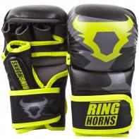 Guantillas de MMA Ringhorns Charger Sparring Neo Yellow