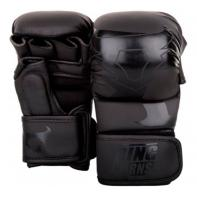 Guantillas de MMA Ringhorns Sparring Charger negro mate by Venum