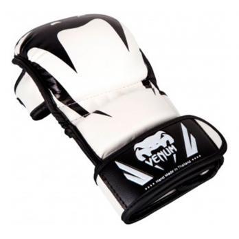 Guantillas de MMA Venum Impact Sparring Blanco/Negro