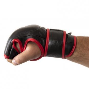 Guantillas MMA Buddha Competición Profesional Piel negras