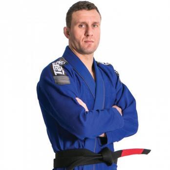 Kimono BJJ Tatami Nova Plus azul + cinturón blanco