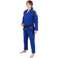 Kimono BJJ Tatami Nova Absolute Mujer azul + cinturón blanco