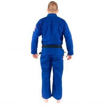 Kimono BJJ Tatami Nova Mínimo 2.0 Azul + Cinturón blanco