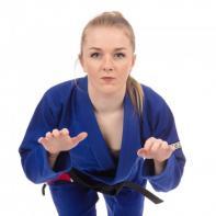 Kimono BJJ Tatami The Original Mujer azul