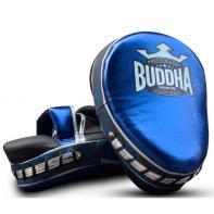 Manoplas Buddha Curvadas Premium azul  (par)