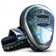 Manoplas Buddha Curvadas Premium silver (par)