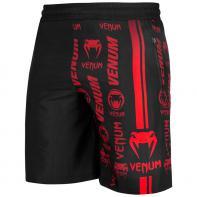Pantalón Training Logos negro / rojo