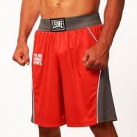 Pantalones de boxeo Leone Corner rojo