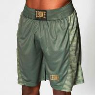 Pantalones de boxeo Leone Extrema 3 verde militar