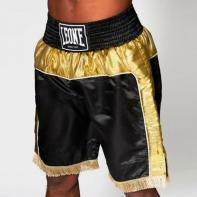 Pantalones de boxeo Leone Legend black / gold