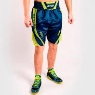 Pantalones De Boxeo Venum Arrow Loma Signature Collection azul / amarillo