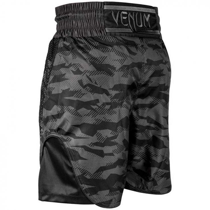 Pantalones De Boxeo Venum Elite Negro / Urban Camo